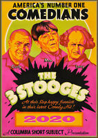 2020 Wall Calendar [12 page A4] 3 Stooges Comedy Silent Film Vintage Poster M516