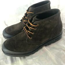 Polo Ralph Lauren Umar Dark Brown Suede Boots Men's Size 13 Chukka Lace Up Boots