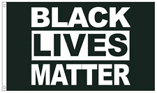 Black Lives Matter Flag 3X5 FT Banner BLM Peace Protest Support George Floyd New