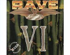CD RAVE Series VI holland 1994  Hardcore, Gabber, Happy Hardcore