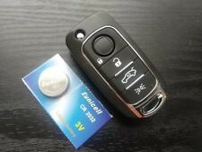 NEW FIAT 500X 500L 4 BUTTON SMART REMOTE FLIP KEY FOB CASE SHELL COVER UNCUT