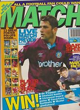MATCH MARCH 14th 1992 SET FOR SWEDEN No 7 MAN CITY DERBY WATFORD MANSFIELD NOTTS