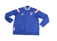 Adidas NBA Detroit Pistons Andre Drummond Game Worn On Court Jacket 3XL Blue