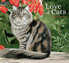 NEW Love of Cats Persis Clayton Weirs 2020 Lang Wall Calendar Packed Well