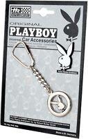 Original Metall PLAYBOY Schlüsselanhänger Hase BUNNY Relief Emblem Art. 6613
