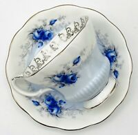 Royal Albert Bone China Rose Marie Series Starlight Tea Cup and Saucer