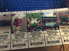 2015 PHILADELPHIA PHILLIES SEASON TICKET STUB PICK YOUR GAME FRANCO NOLA