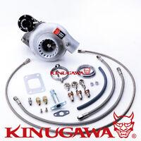 """Kinugawa Billet Turbo High Mount 3"""" TD05H-20G Nissan TD42 Patrol 6cm T3 Safari"""