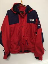 Vintage THE NORTH FACE Mens MOUNTAIN SKI Jacket 90s GORETEX Size L Blue Red