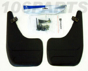 Peugeot 106 Rear Mud Flaps (x2) for S2 with Sport Bumpers GTi RALLYE QUIKSILVER