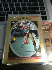 JERRY RICE   1996 Upper Deck Silver All-NFL #AN3 49ers! kxv2