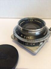Rodenstock Heligon 95mm 1:2.8 Graflex Linhof Synchro Compur Shutter Lens