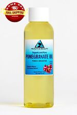 POMEGRANATE SEED OIL REFINED ORGANIC by H&B Oils Center COLD PRESSED PURE 2 OZ