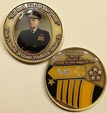 "Fleet Admiral William ""Bull"" Halsey Navy Challenge Coin"