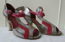 Leather Heels Women's Vintage 1930s Decade Shoes