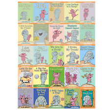 Elephant and Piggie Series Complete Hardcover Collection! 25 Volumes! Mo Willems