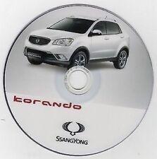 ssangyong kyron full service repair manual 2005 2010