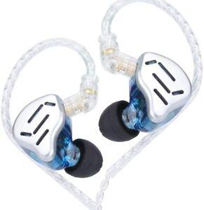 KZ ZAX 1DD+7BA Hybrid Driver HiFi in-Ear Earphones with Zin Alloy Shell