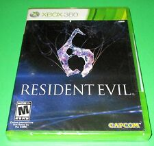 Resident Evil 6 Microsoft Xbox 360 *Factory Sealed! *Free Shipping!