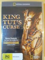 National Geographic - King Tut's Curse [ DVD ] Multi Region, BRAND NEW & SEALED,