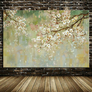 Abstract Flower Handpainted Oil paintings on Canvas Wall Art Home Decor Big Size