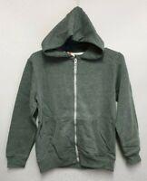 BNWOT Sz 11 to 12 Boys Rebel Brand Green Long Sleeve Zip Front Hoodie Jacket
