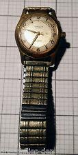 Hamilton 1958 CARLYLE 10k Gold Case Mens Wrist Watch 25 Jewels