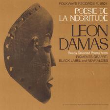 Leon Gontran Damas - Poesie de la Negritude [New CD]