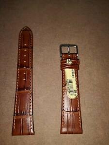 DI-Modell Genuine Calf Leather Alligator Grain 20/16  Watch Band CARACAS