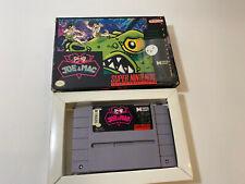 Joe & Mac (Super Nintendo Entertainment System, 1992) SNES, Box