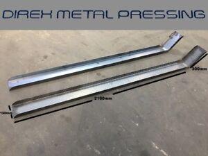 Mild Steel (Smooth) Motorbike C Channels