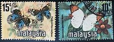 Wholesale LOT- Malaysia 1976 Butterfly Coil Stamps10 sets of 2v used