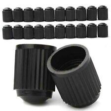 20pcs Car Tyre Valve Dust Caps Dome Shape Black Bike Bicycle Plastic Cap Supply