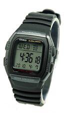 Casio W96H-1B Mens Alarm Chronograph Digital Sports Watch 10 Year Battery New