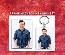 shane filan Key Ring & Fridge Magnet Set