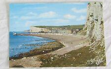 Carte postale CPM 76 Le Tréport La plage écrite vers 1980