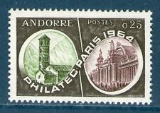 ANDORRE TIMBRE 171 NEUF XX QUALITE LUXE - PHILATEC 1964 PARIS