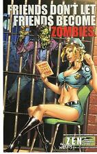 GRIMM FAIRY TALES THE WAKING #2D ZOMBIES ART PRINT By TALENT CALDWELL