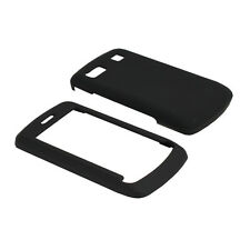 Fosmon - Rubberized Protective Hard Gel Case for LG Xenon GR500 (Black)