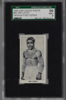1938 CARTLEDGE  RAZOR # 30 JOE LOUIS 96 MINT 9 HIGH GRADE FAMOUS PRIZE FIGHTERS