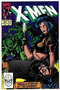 Uncanny X-Men 267 Marvel Comics 1990 2nd Full Gambit
