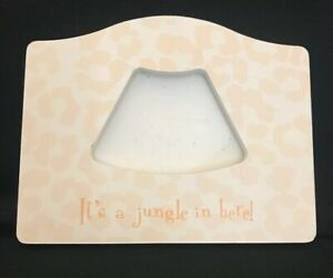 """Sonogram  """"It's A Jungle In Here!"""" Picture Frame"""