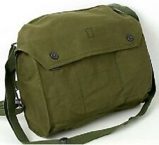 Mens Ladies Shoulder Messenger Military Vintage Bag Army Fishing Satchel