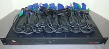 Avocent DSR 2161 - KVM over IP switch - 16port W/16X Dongles and Rack Ears Incl.