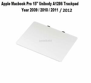 """New Apple Macbook Pro 15"""" Unibody A1286 Touchpad Trackpad  2009 -2012 No Cable"""