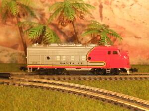 US Diesellok, Santa Fe, Bachmann, Spur N,F-9