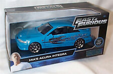 FAST & FURIOUS Mia's Acura Integra 1/24 SCALE DIECAST OPENING FEATURES