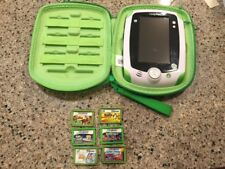 Leapfrog Leappad Explorer 1 Kids Tablet Game System Bundle with 6 Games~Case~Etc