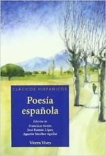 Poesia Española. Clasicos Hispanicos. Material Auxiliar. ENVÍO URGENTE (ESPAÑA)