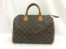 "Auth Louis Vuitton Monogram Speedy 30 Hand Bag Vintage 9J080070n"""